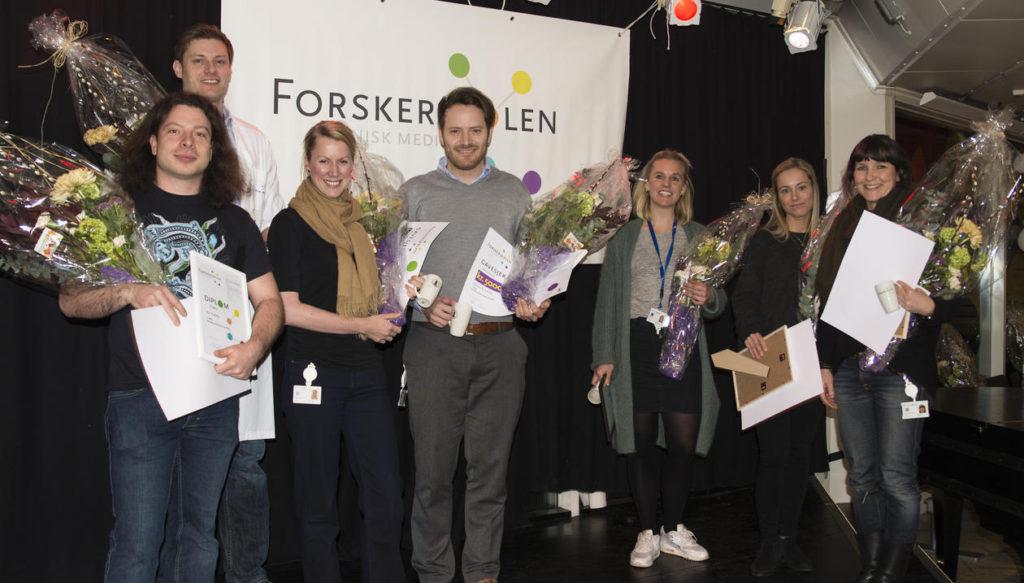 Fra venstre: Kai Triebner, Gard F. T. Svingen, Hanne Dillekås, Øystein Eikrem, Ida-Sofie Grønningsæter, Christine Drengenes, Maria K. Jonsson.